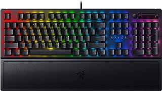Razer BlackWidow V3 Yellow Switch ゲーミングキーボード メカニカル イエロー軸 Chroma RGB 英語配列 【日本正規代理店保証品】 RZ03-03541900-R3M1
