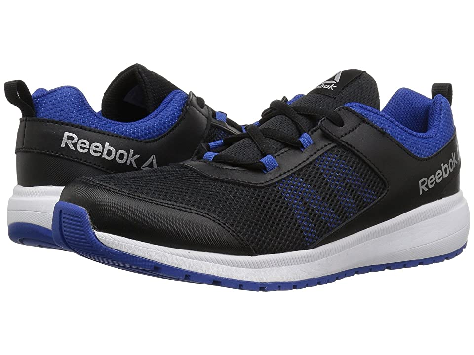 Reebok Kids Road Supreme (Little Kid/Big Kid) (Black/Blue) Boys Shoes