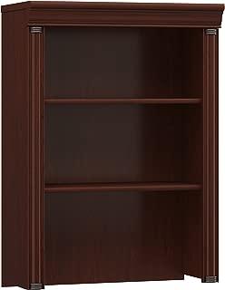 Bush Furniture Birmingham Hutch for Lateral File Cabinet in Harvest Cherry