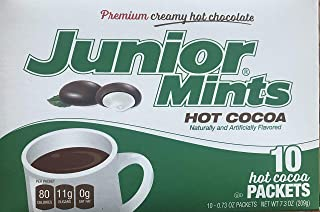 Claire Baie Cocoa Hot Tootsie Roll Hot Cocoa Junior Mints Pack, 10 ct