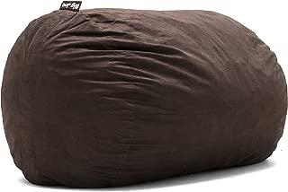 Big Joe Lenox Fuf Foam Filled Bean Bag, Extra Large, Cocoa