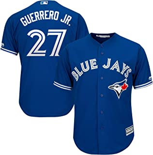 Outerstuff Vladimir Guerrero Jr. Toronto Blue Jays Kids 4-7 Blue Alternate Cool Base Replica Jersey