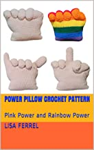 Power Pillow Crochet Pattern: Pink Power and Rainbow Power