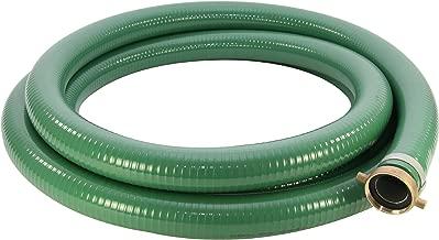 Abbott Rubber PVC Suction Hose Assembly, Green, 3