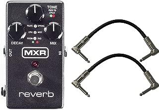 MXR M300 Reverb Pedal w/ 2 Patch Cables