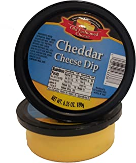 Old Fashioned Cheese Dip, Cheddar, 6.35 Ounce (Pack of 12)