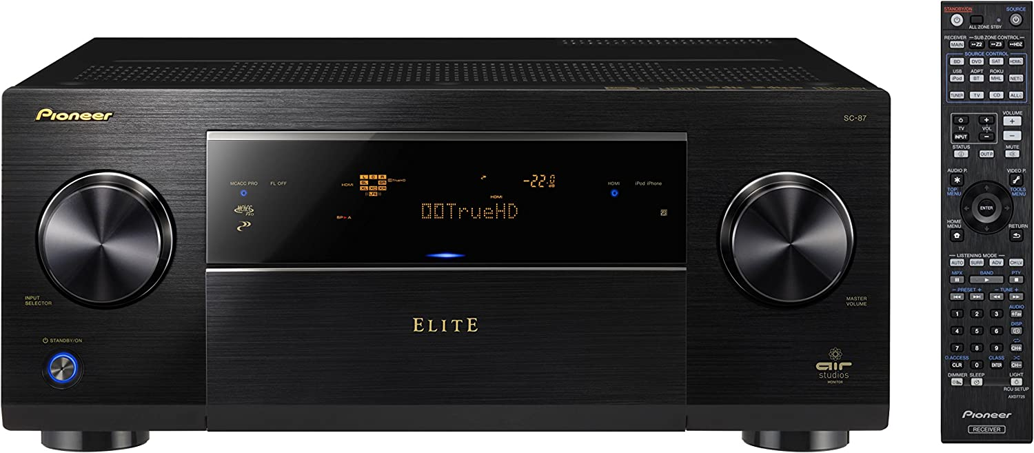 Pioneer Topics on TV Elite SC-87 9.2-Channel Class D3 A Network Receiver Sales for sale V wi