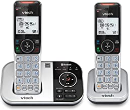 $53 » VTECH VS112-2 DECT 6.0 Bluetooth 2 Handset Cordless Phone for Home with Answering Machine, Call Blocking, Caller ID, Inter...