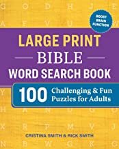 Large Print Bible Word Search Book: 100 Challenging and Fun Puzzles for Adults