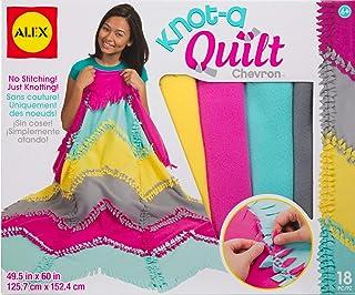 Alex DIY Knot-A-Quilt Pattern Kids Art and Craft Activity 553000-3