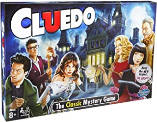 Hasbro Gaming 38712EF3 Cluedo The Classic Mystery Board Game