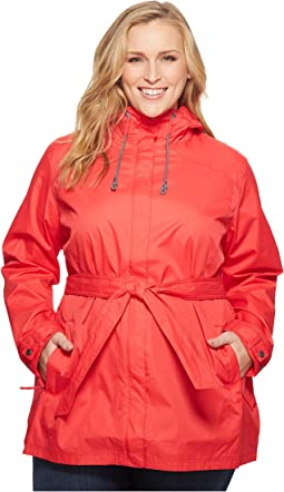 Plus Size Pardon My Trench™ Rain Jacket