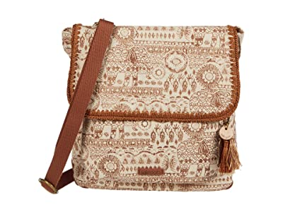 Sakroots Artist Circle Convertible Backpack (Tobacco Batik World) Backpack Bags