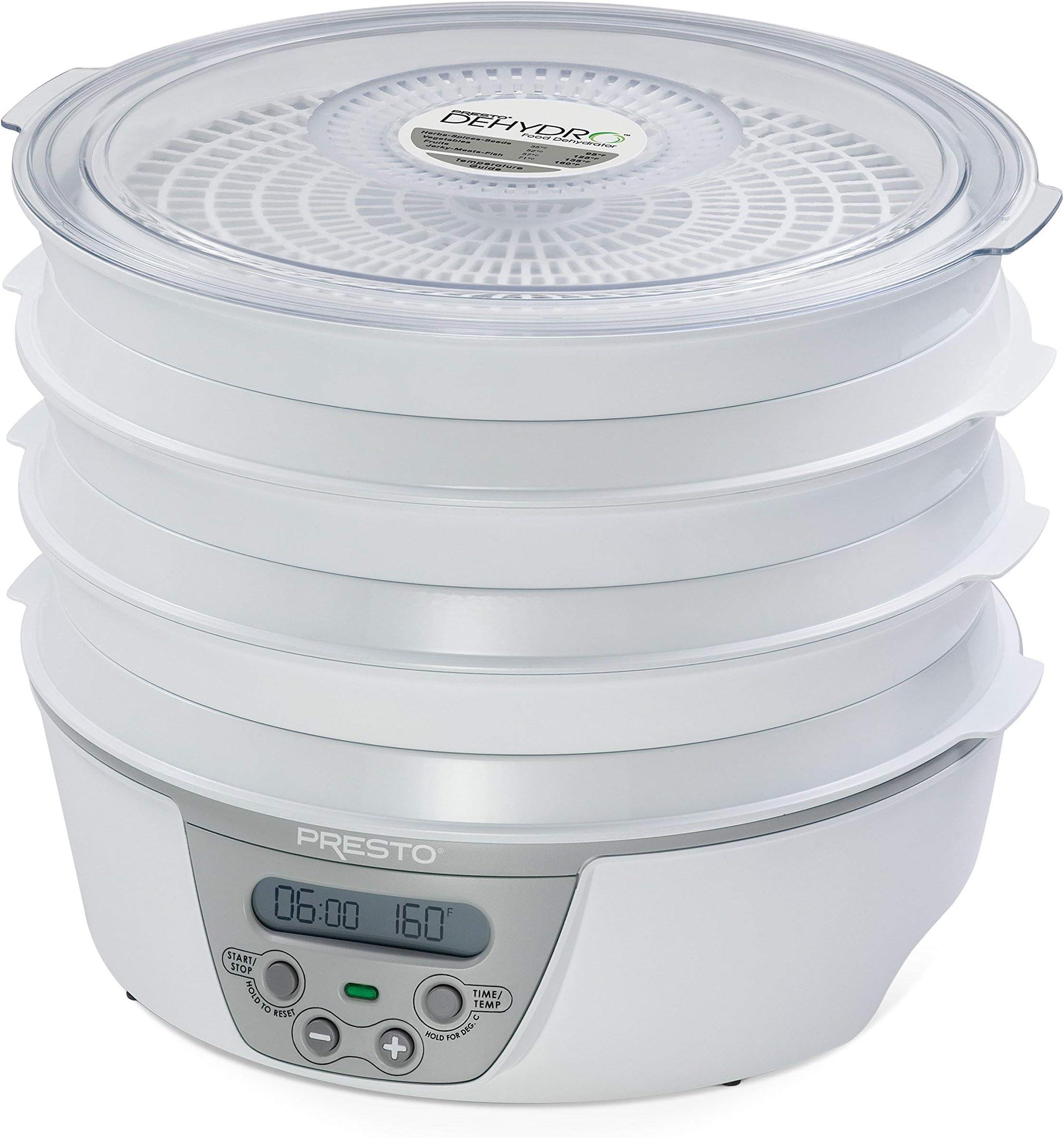 Presto 06301 Dehydro Digital Electric Food Dehydrator (Renewed)