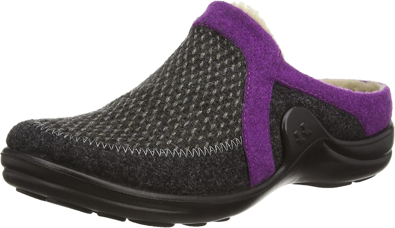 ROMIKA Women Slippers Maddy Home 01 Grey, (grey-purple) 18501 54 780