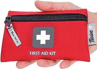 کیت کمک های اولیه - 66 قطعه - کیسه های کوچک و سبک - بسته بندی شده با وسایل پزشکی برای اورژانس، بقا، پیاده روی، بسکتبال، کمپینگ، مسافرت، ماشین و دوچرخه سواری. آماده شدن در خانه و کار