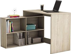 Demeyere 254462 scrivania angolare, 112 x 77 x 101 cm