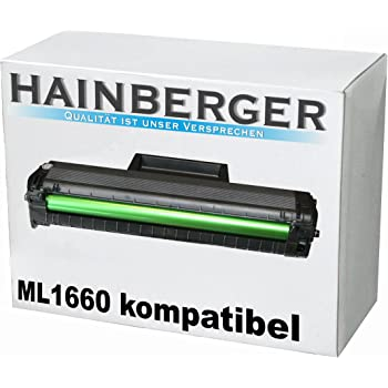 kompatible XXL Tonerkartusche f/ür Samsung ML1660 ML1660 K ML1660 N ML1661 K ML1665 ML1665 K ML1666 ML1670 ML1672 MLT D1042S MLT-D1042S MLT 104 Black Schwarz XXL
