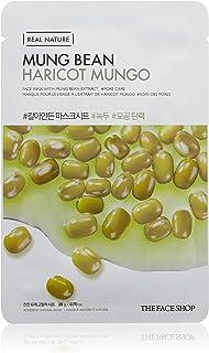 The Face Shop Real Nature Mung Bean Face Mask Sheet 20 G, 20 g