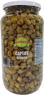 Sanniti Spanish Capers Capotes in Vinegar and Salt Brine - 33.5 oz
