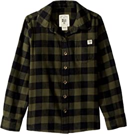 Buttoned Up Long Sleeve Shirt (Little Kids/Big Kids)