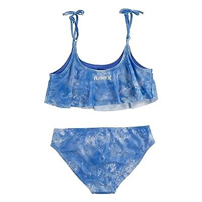 Hurley Kids UPF 50+ Bikini Swimsuit Set (Big Kids)