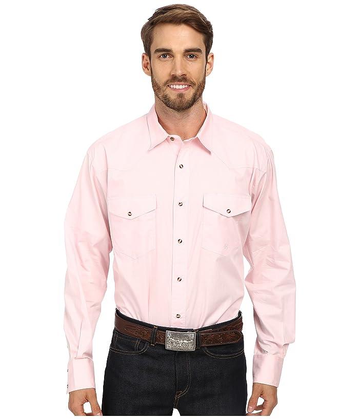 Roper Solid Poplin L S Shirt