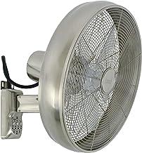 LUCCI AIR 213126EU Breeze Ventilateur mural avec télécommande Acier