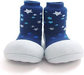 Attipas Twinkle Baby Walker Shoes, Blue, Medium