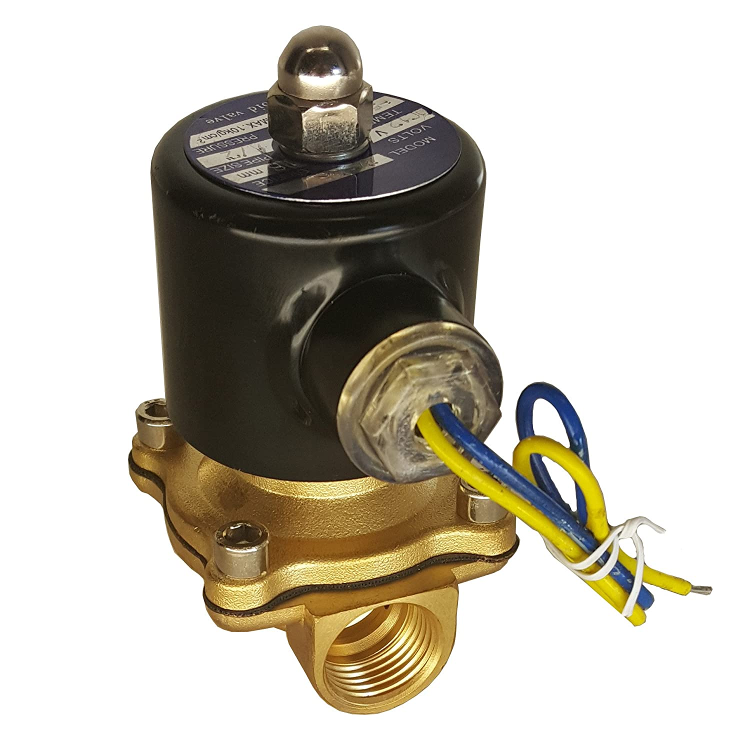 HFS 110v Ac Electric Solenoid Valve Water Cheap sale Air Max 42% OFF Gas - N Fuels c 1