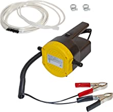 ALEKO BST1017N 12V 5A DC Motor Fuel Oil Diesel Pump with Hose with Handle & On/Off Switch