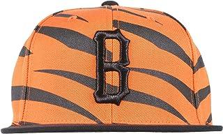 2a4fade240e Black Scale B Logo Mens Snapback Hat in Tiger