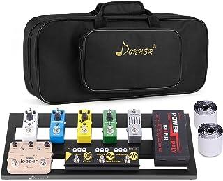 Donner Guitar Pedal Board Case DB-2 Aluminium Pedalboard...