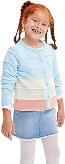 DeFacto Maglione da bambina con bottoni, maglione da bambina