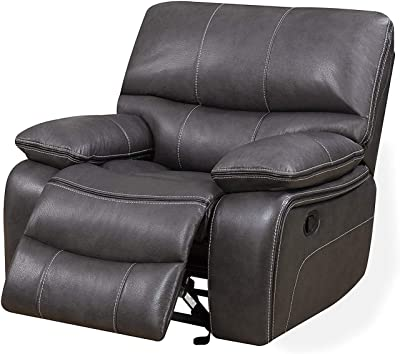 Amazon.com: Pulaski Metro Potencia Sillón Reclinable ...