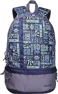 F Gear Burner 19 Liters P10 Sky Blue Casual Backpack (2186)