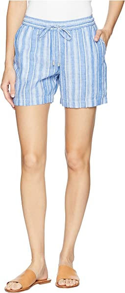 Santiago Stripe Easy Shorts