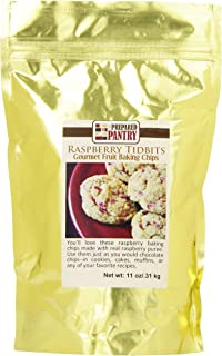 The Prepared Pantry Gourmet Baking Chips Raspberry Tidbits, 11 Ounce