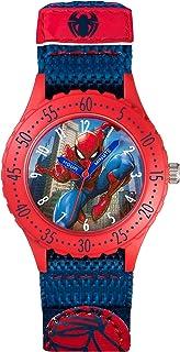 Spiderman Enfant Analogique Quartz Montre avec Bracelet en Caoutchouc SPD3495