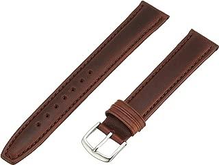 Hadley-Roma Men's MSM881LB-180 18mm Brown Oil-Tan Leather Watch Strap