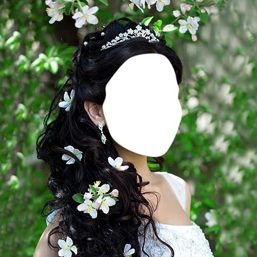 Hochzeitsfrisur Foto-Montage