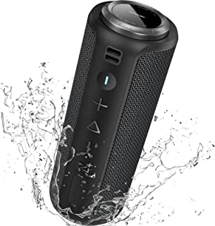 $59 » Bluetooth Speaker Portable Wireless Outdoor - SONGLOW 40W IPX7 Waterproof Speakers Bluetooth Wireless 5.0 with Louder Ster...