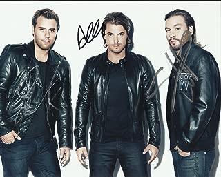 DJ Swedish House Mafia Signed Promo 8x10 By All 3 Members RARE