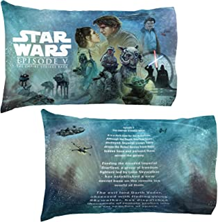 Jay Franco Star Wars Celebration Empire Strikes Back Limited Edition 2 Pack Pillowcase, One Size Fits All, Episode 5