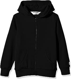 Kid Nation Kids' Soft Brushed Fleece Zip-Up Hooded Sweatshirt Hoodie for Boys or Girls