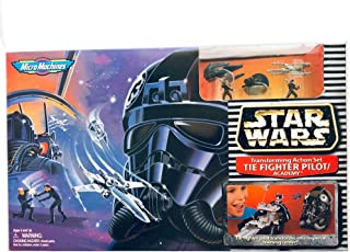 Star Wars Micro Machines Tie Fighter Pilot/Academy - Transforming Action Set