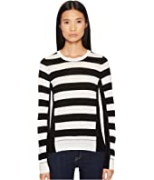 Sonia Rykiel - Long Sleeve Stripe Pullover