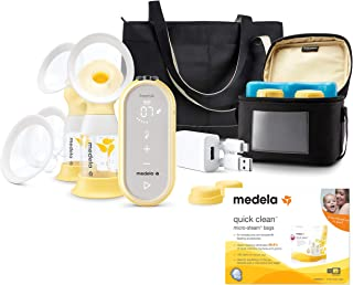 Freestyle Flex Breast Pump with Quick Clean Micro-Steam Bags by Medela