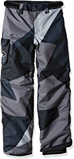 Under Armour Outerwear Youth Boys Storm Chutes Insulated Pants, Steel/Overcast Gray, Small