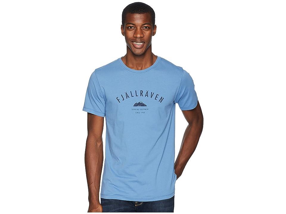 Fjallraven Trekking Equipment T-Shirt (Blue Ridge) Men